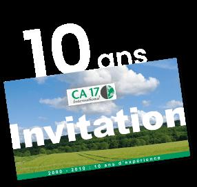 10 ans CA 17 International